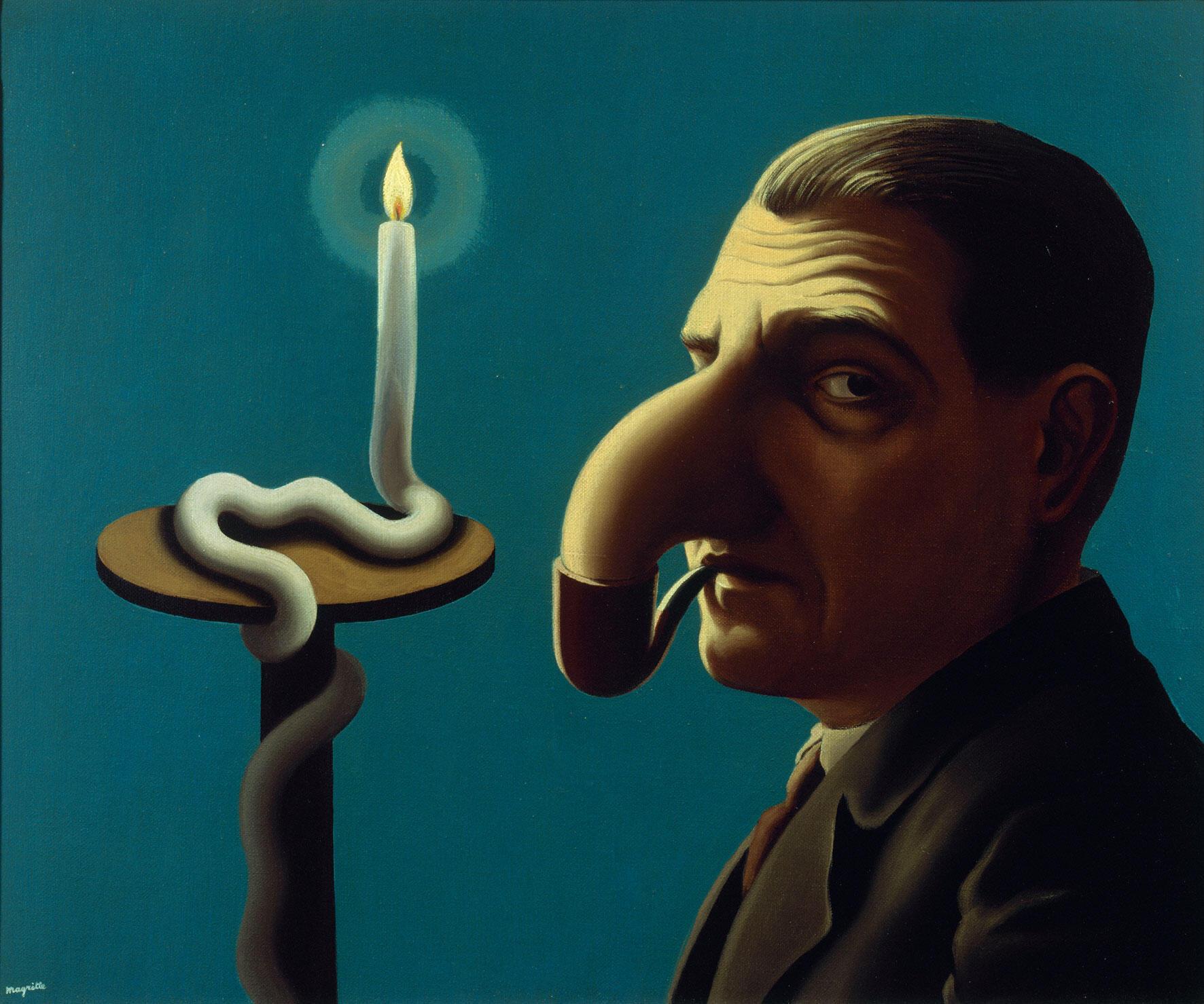 'La lampe philosophique', 1936.