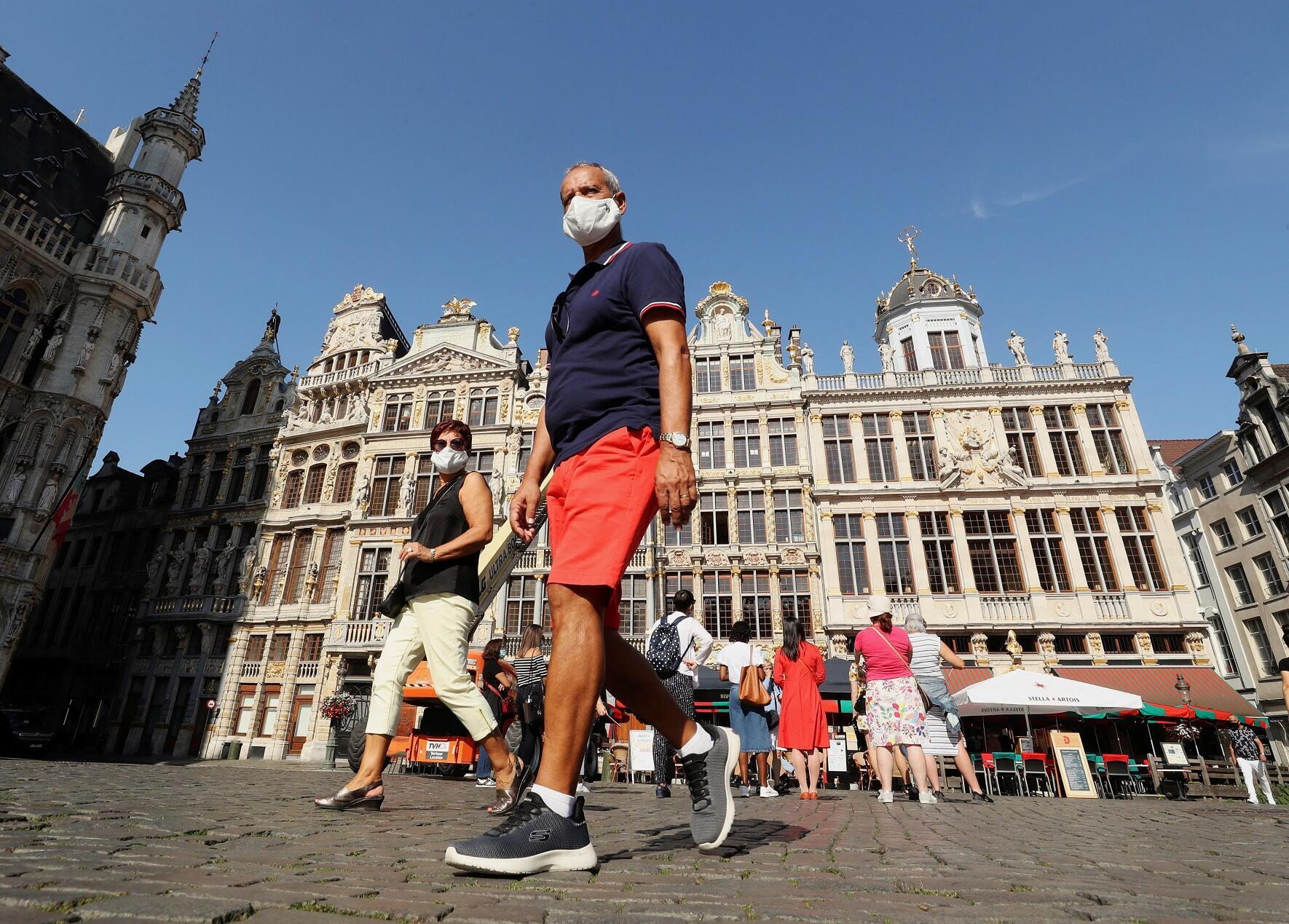 Covid-19: le port du masque ne sera plus obligatoire à Bruxelles à partir du 1er octobre