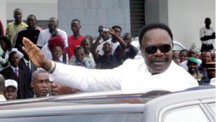 Omar Bongo Ondimba, le président de la République gabonaise.