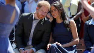 Harry e sua mulher Meghan, que atualmente têm o título de duque e da duquesa de Sussex, querem se afastar de suas obrigações ligadas à coroa.