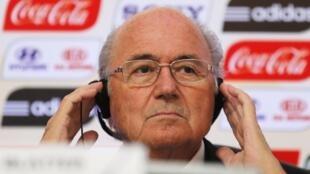 Sepp Blatter is under medical evaluation for stress.