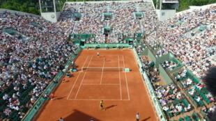 O recinto de Roland-Garros em Paris