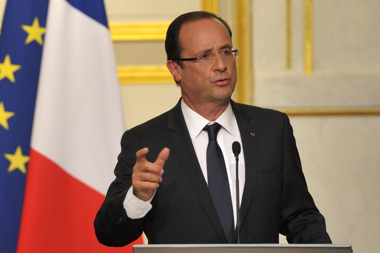 Президент Франции Франсуа Олланд 29 мая 2012.