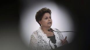 La presidenta brasileña Dilma Rousseff.