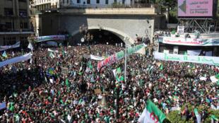 Algeri : Cảnh biểu tình ở Alger đòi tổng thổng Bouteflika từ chức. Ảnh 29/03/2019.