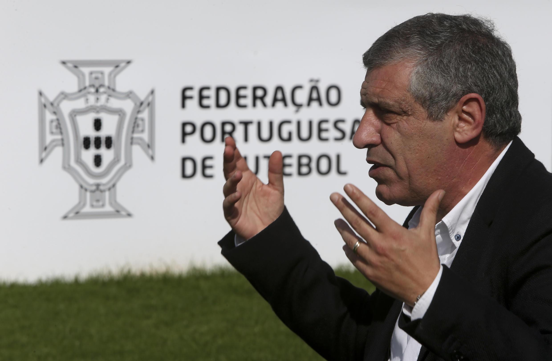 O seleccionador português, Fernando Santos