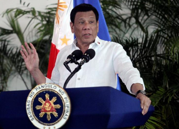 菲律宾总统杜特尔特资料图片