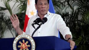 菲律賓總統杜特爾特資料圖片