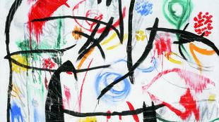 Sin título, 1968-1972, Joan Miró.