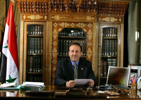محمد جهاد اللحام، رئیس مجلس سوریه