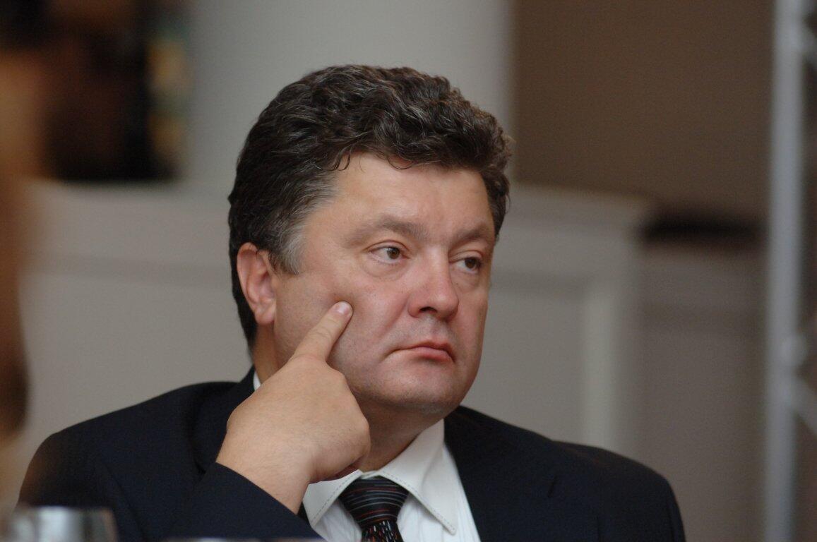 Petro Porochenko.
