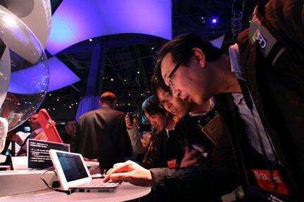 L'édition 2009 de l'International Consumer Electronics Show à Las Vegas fait la part belle aux ultra portables.