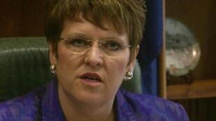 圖為新西蘭前總理希普利Jenny Shipley
