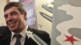 Ông Anatoly Isaikin, giám đốc tập đoàn Rosoboronexport 13/12/ 2013 (REUTERS / M. Shemetov)