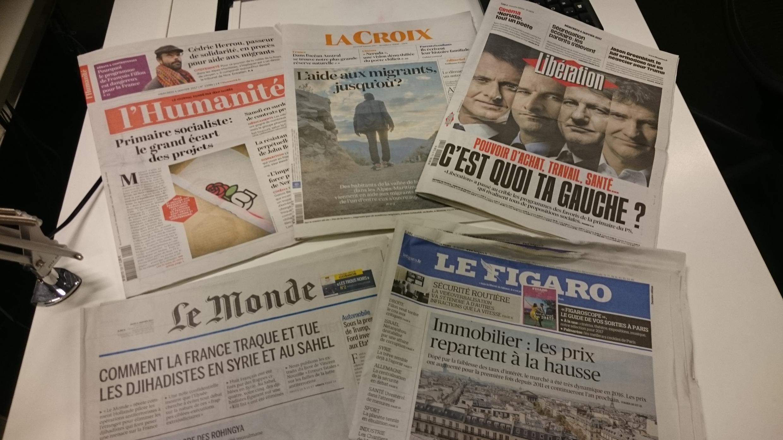 Diários franceses 04.01.2017
