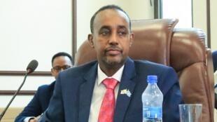 Le Premier ministre somalien Mohamed Hussein Roble, le 23 septembre 2020.