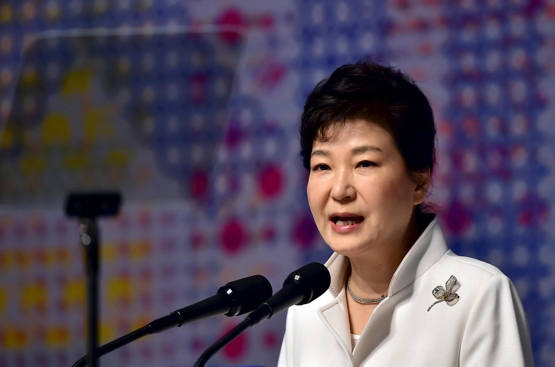 La présidente sud-coréenne Park Geun-hye, en mars dernier à Séoul.