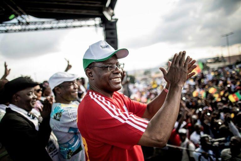Le leader de l'opposition camerounaise, Maurice Kamto, est toujours en prison depuis les manifestations réprimées du 22 septembre 2020.