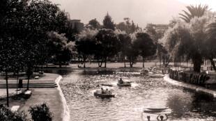 Le parc Carolina, à Quito.