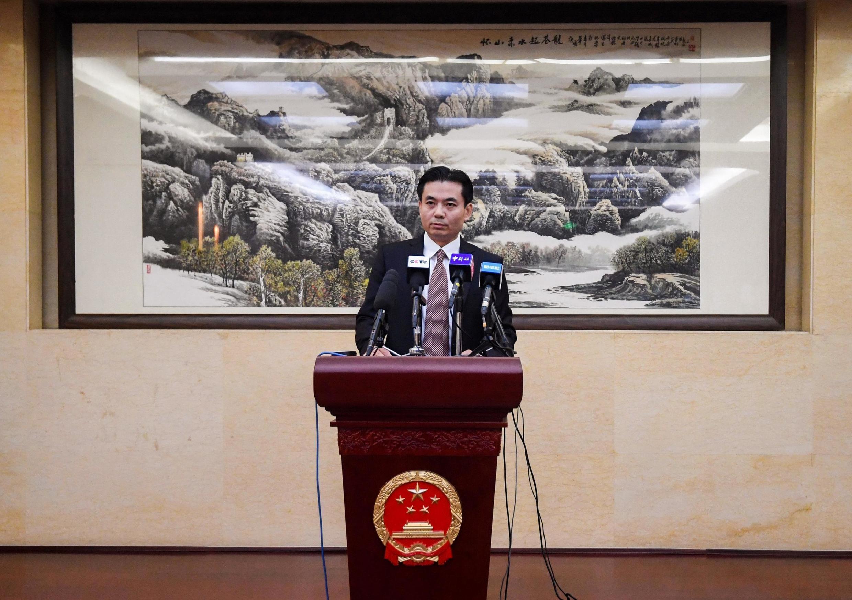 Phát ngôn viên Dương Quang (Yang Guang), Văn phòng Các vấn đề Hồng Kông và Macao họp báo, Bắc Kinh, 12/08/2019.