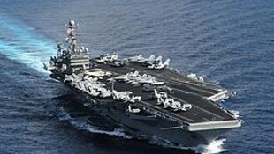 美国海军罗斯福号航空母舰