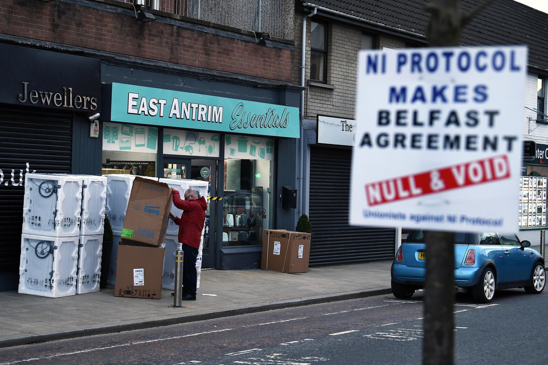 irlande du nord brexit contrôles