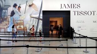 L'exposition de James Tissot au musée d'Orsay.