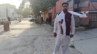 Erfanullah Erfan a été parmi les Afghans qui ont voté. Son choix s'est porté sur le président sortant, Ashraf Ghani.