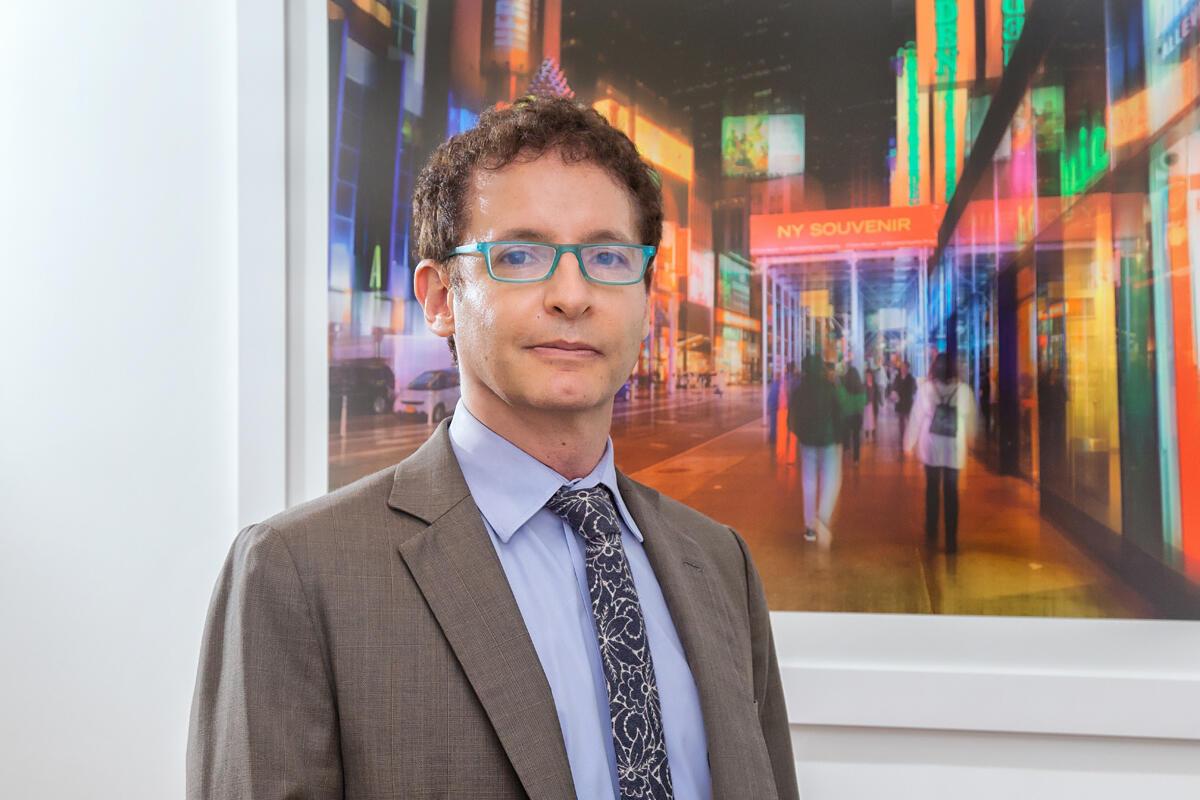 O psiquiatra e psicoterapeuta Ivan Mario Braun, especialista em dependência de drogas.