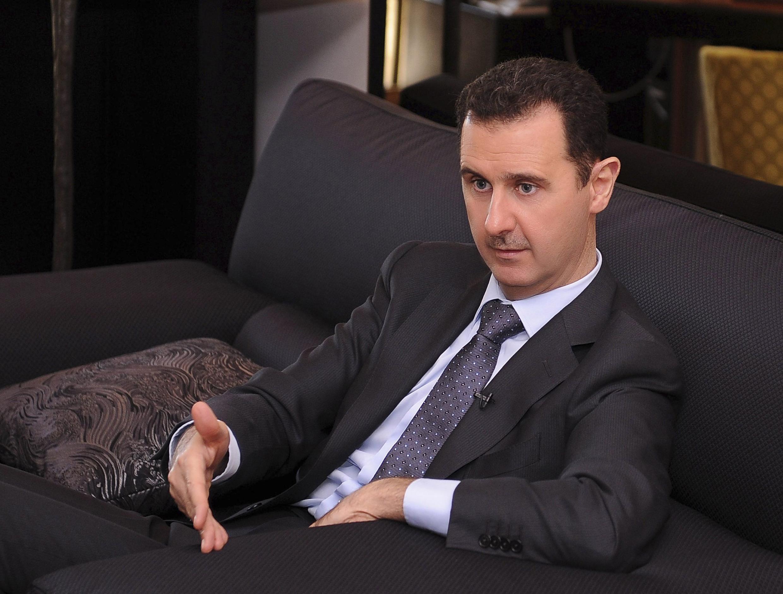 Rais wa Syria, Bashar Al Assad, akitawadhwa kuwa rais kwa muhula wa tatu.