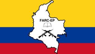 Drapeau des FARC.