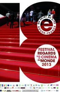 Cartaz da 18ª edição do Festival de Cinema de Rouen