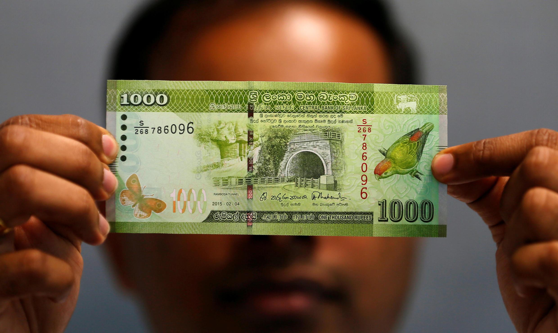 La roupie sri-lankaise s'est échangée à 170 roupies pour un dollar vendredi dernier, contre 155 roupies en janvier.