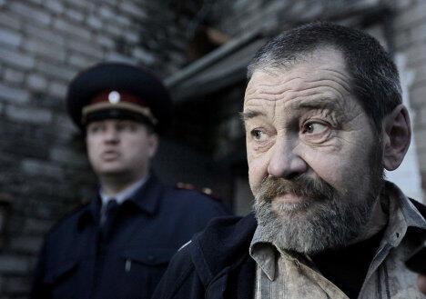Сергей Мохнаткин при освобождении из колонии 26/04/2012 (архив)