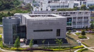 Una imagen del laboratorio P4 del Instituto de Virología de Wuhan, tomada el 17 de abril de 2020 en la ciudad china