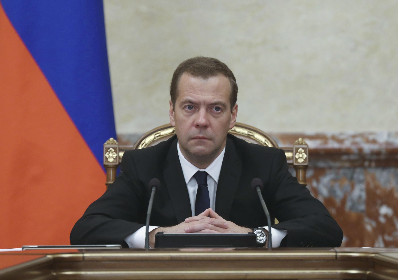 Le Premier ministre russe Dmitri Medvedev, le 26 novembre 2015, à Moscou.