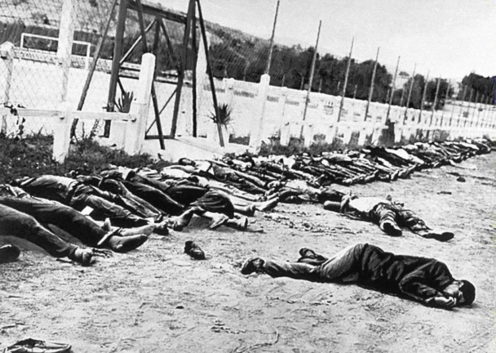 Après la manifestation du 8 mai 1945 à Sétif, la répression se poursuivra durant des semaines.