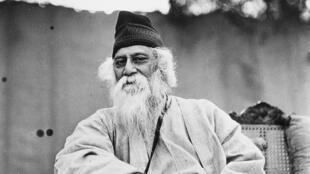 Rabindranath Tagore, vers 1935.