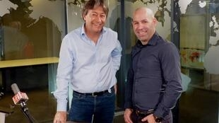 Soto Beltrán y Jordi Batallé en RFI