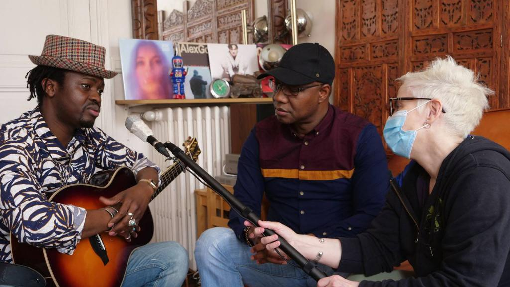 Interview Moh! Kouyaté, Sekouba Bambino et Laurence Aloir.