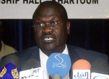 L'ancien vice-président, Riek Machar (notre photo), assure ne vouloir discuter que «des conditions du départ» de son rival, le président Salva Kiir.