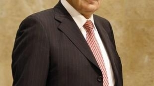 Le ministre libanais des Télécommunications, Charbel Nahas, le 10 novembre 2009.