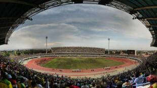Le stade de Kégué à Lomé au Togo.
