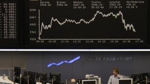 Bolsas europeias operam instáveis nesta quinta-feira.