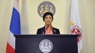 A primeira-ministra tailandesa,Yingluck Shinawatra, convocou novas eleições nesta segunda-feira, dia 9 de dezembro.