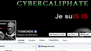 Страница телеканала в Фейсбуке после взлома
