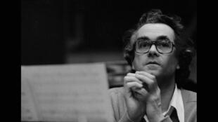 Michel Legrand, en enregistrement avec Phil Woods en 1975.