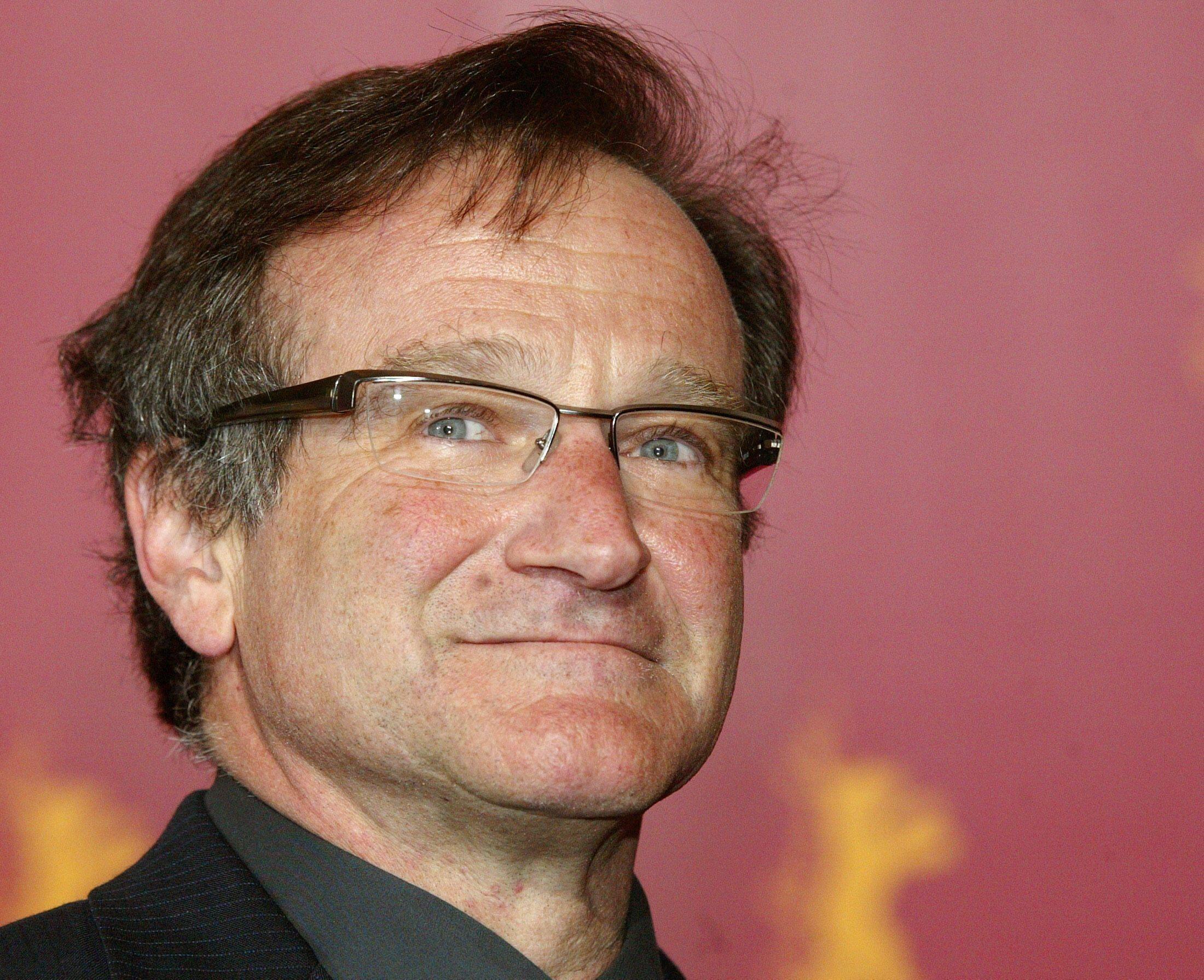 Ngôi sao Robin Williams tại liên hoan Berline lần thứ 54, năm 2004.