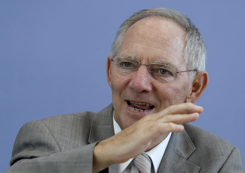Ministan kudin kasar Jamus, Wolfgang Schaeuble