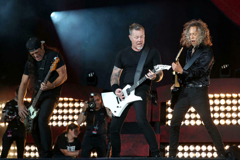 Le groupe Metallica a participé au festival Global Citizen